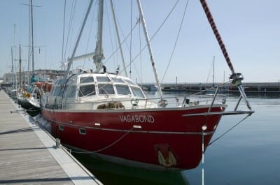 """French Arctic expedition yacht """"Vagabond"""""""