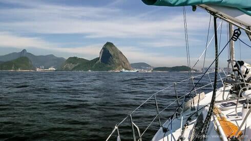 Entering Rio – what a backdrop