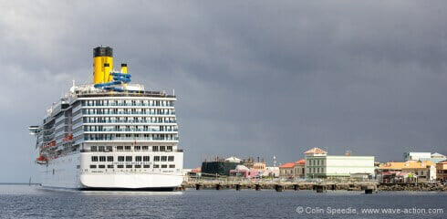 Which is the city? Ship or Roseau, Dominica