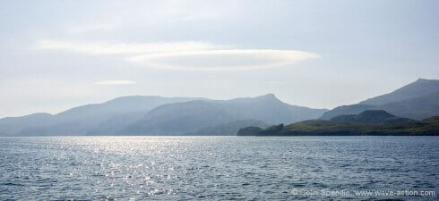 Orographic cloud, South Uist