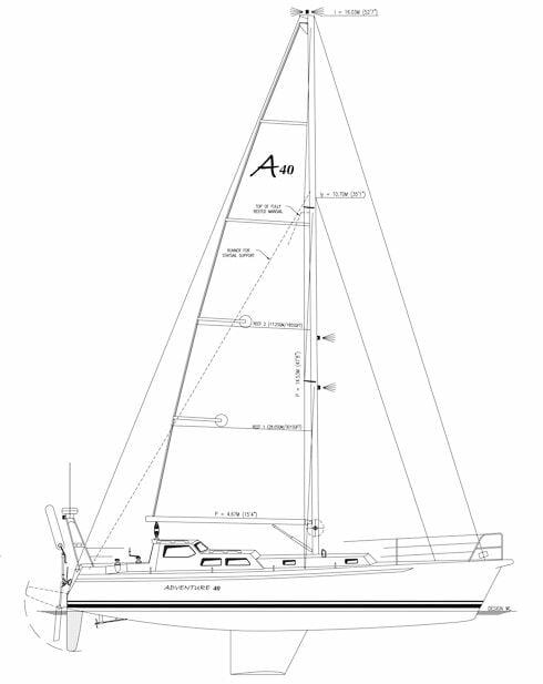 G:�44 - Adventure 40�44-001-Rev0 General arrangement Layout (1
