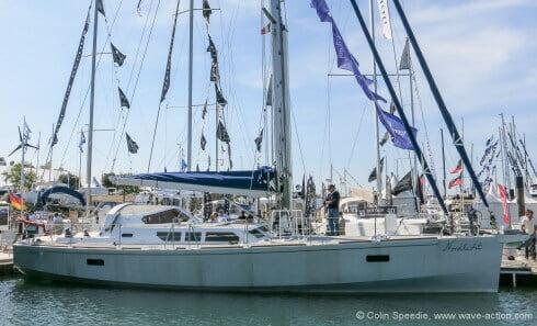 Boréal 52 'Nordlicht' at the La Rochelle Boat Show.