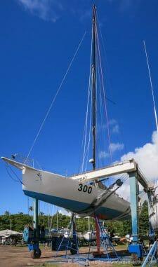 Grey Power' hauled out at Grenada Marine