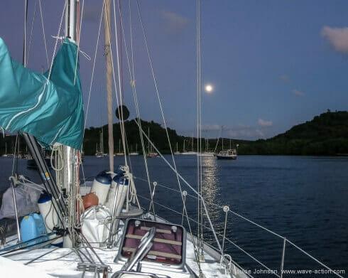 Moonrise over Hog Island