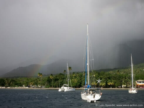 A windy day in Dominica