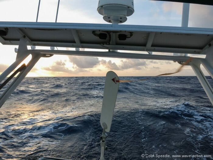 Strong winds over the stern are easier to cope with