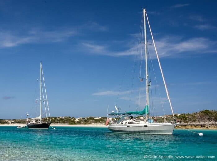 'Pèlerin' and 'Velvet', Warderick Cay
