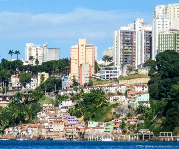 Plenty and poverty exist side-by-side in Salvador