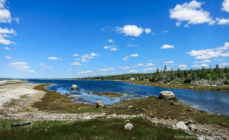 Hagar's Cove, McNutt's Island.