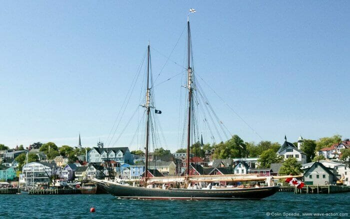 Bluenose II returns to her berth
