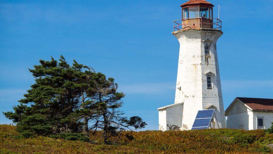 Cape Negro Island, Nova Scotia—A Fortuitous Encounter