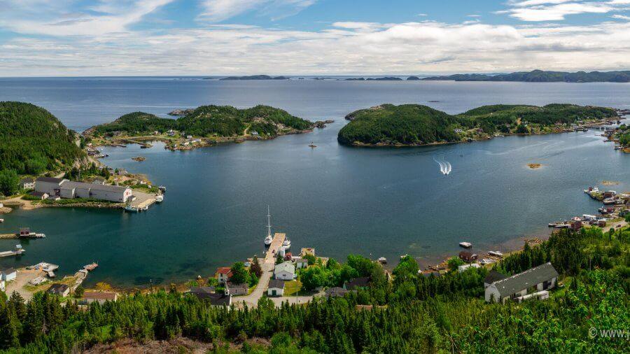 Little Bay Islands, Newfoundland—No Longer Facing The Sea