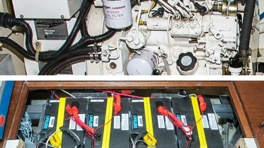 Efficient Generator-Based Electrical Systems For Yachts