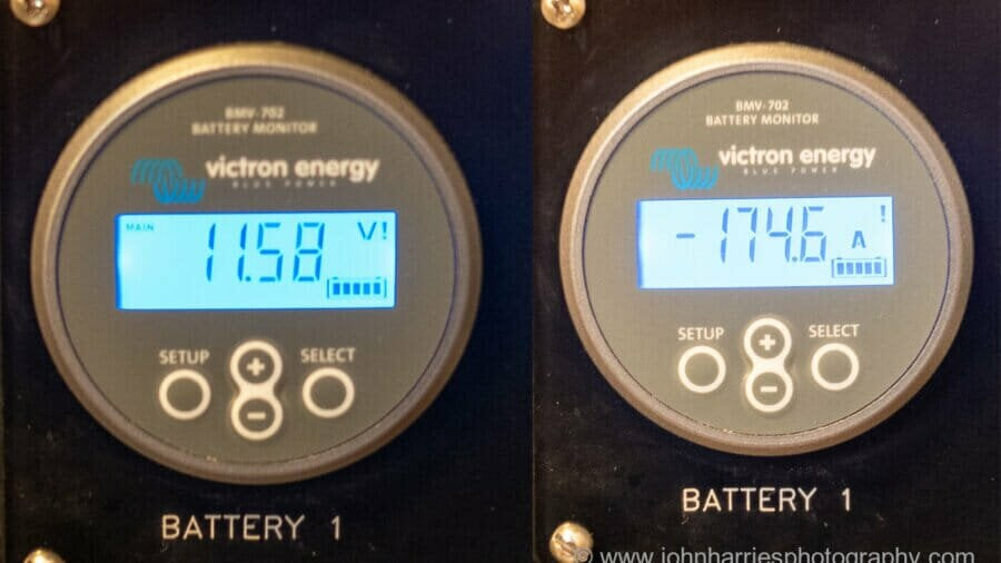 The Danger of Voltage Drops From High Current (Amp) Loads