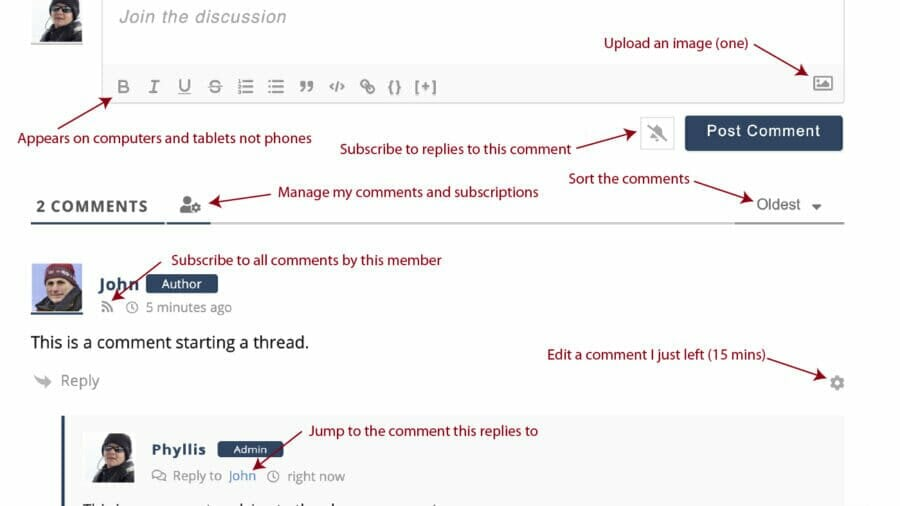 New Comment System